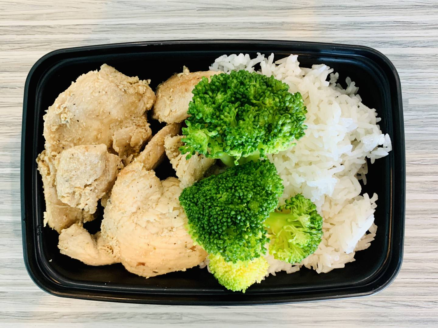 Grilled Chicken, Jasmine Rice and Broccoli